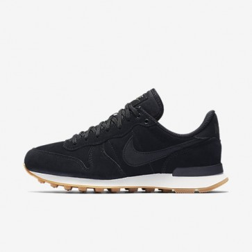 Noir / Vert profond / Gomme Marron clair / Noir Nike Internationalist SE Femme Chaussures 872922-002