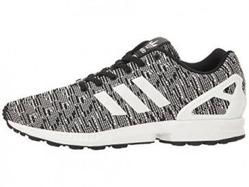 Adidas Originals ZX Flux Graphic Homme - Noir / Running Blanc / Vivid Bleu Chaussures