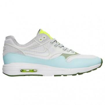 Chaussures Nike Air Max 1 Ultra 2.0 SI Femmes Blanc, Platine pure, Volt 881103 101