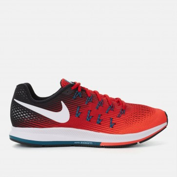 Rouge / Gris / Teal Nike Air Zoom Pegasus 33 Homme Chaussures de course