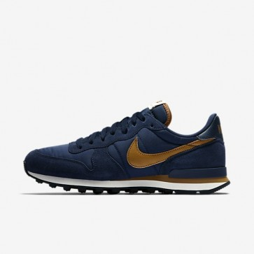 Obsidienne / La marine de minuit / Ale Marron Nike Internationalist 631754-407 Hommes Chaussures