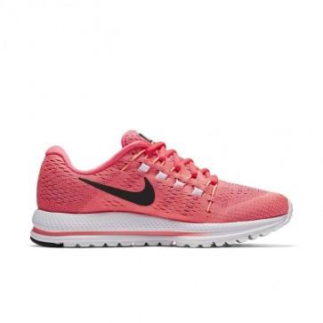 Nike Air Zoom Vomero 12 Femmes Chaussures de course Lava Glow / Noir / Racer Rose / Sunset Glow 863766-601