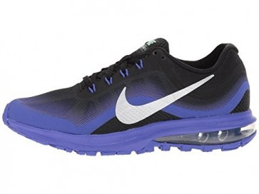 Hommes & Femmes Nike Air Max Dynasty 2 Chaussures Noir / Chrome / Persian Violet