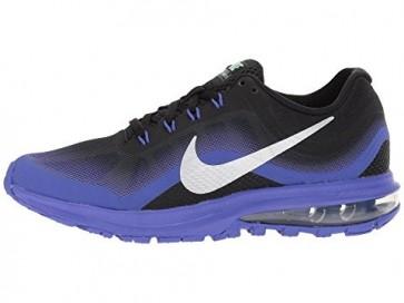 Hommes & Femmes Nike Air Max Dynasty 2 Chaussures Noir / Chrome / Persian Violet
