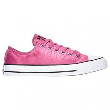 Femme Converse Chuck Taylor OX Chaussures 155389C PNK Magenta Glow, Noir, Blanc
