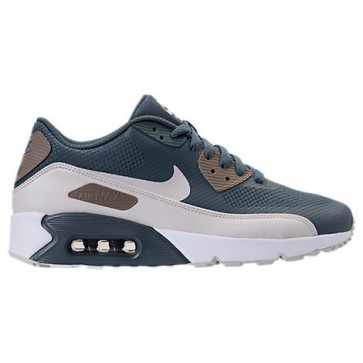 Homme Nike Air Max 90 Ultra 2.0 Chaussures Renard bleu / Light Bone / Champignon / Blanc 875695 401