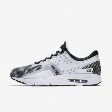 Nike Air Max Zero Essential 876070-005 Hommes Chaussures de course Noir / Wolf Gris / Blanc