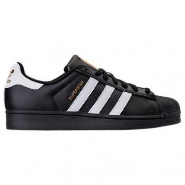 Homme Adidas Superstar Chaussures de sport Noir / Blanc / Noir B27140