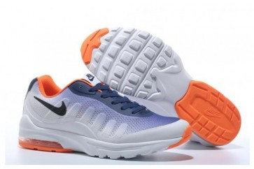 Nike Air Max 95 Femme Chaussures de course (Blanc, Bleu, Orange)