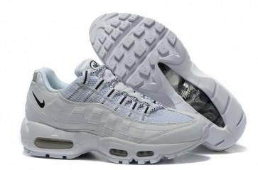 Tout Blanc Femme Nike Air Max 95 Chaussures de course