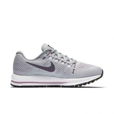 Femme Chaussures de course - Nike Air Zoom Vomero 12 Platine pure, Pourpre Dynasty, Wolf Gris 863766-003