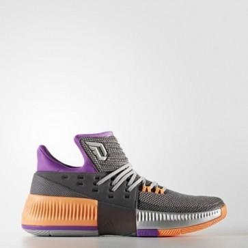 Adidas Hommes Dame 3 ASW Châtain moyen gris Gris solide / Argent Métallique Chaussures BB8270