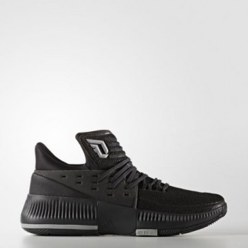 Chaussures Adidas Hommes Dame 3 Lights Out Core Noir / Châtain moyen gris Gris solide BY3206