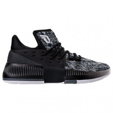 Noir / Blanc / Onyx Adidas Dame 3 Hommes Chaussure de basketball BY3760