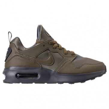 Olive moyenne / Gris foncé Nike Air Max Prime Hommes Chaussures 876068 200