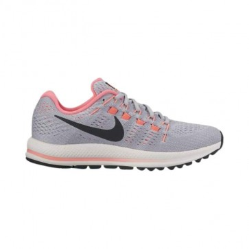 Nike Air Zoom Vomero 12 Femmes Wolf Gris, Noir, Platine pure, Punch chaud 863767-002