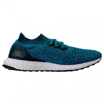 Hommes Chaussures de course Adidas UltraBOOST Uncaged Petrol / Blanc BY2555
