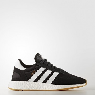 Hommes Adidas Originals Iniki Runner Chaussures Core Noir / Running Blanc BY9727