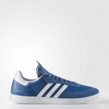 Core Bleu / Running Blanc Ftw / Oiseau bleu Homme Adidas Originals Samba ADV Chaussures BB8687