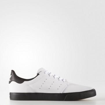 Hommes Adidas Originals Seeley Blanc / Core Noir Chaussures de course BY4018