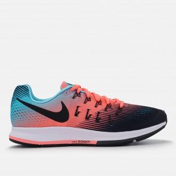 Femmes Nike Air Zoom Pegasus 33 Chaussures de course Rouge, Bleu, Noir