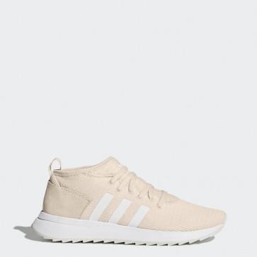 Lin / Lin / Running Blanc Femme Adidas Originals Flashback Des chaussures d'hiver BY9642