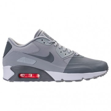 Nike Air Max 90 Ultra 2.0 SE Hommes Chaussures 876005 001 Gris froid / Wolf Gris / Blanc