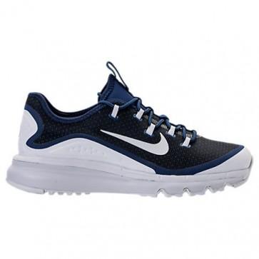 Homme Nike Air Max More Chaussures Bleu binaire, Platine pure, Comet Bleu 898013 400