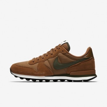 Nike Internationalist 631754-203 Hommes Ale Marron / Sail / Cargo Kaki Chaussures de course