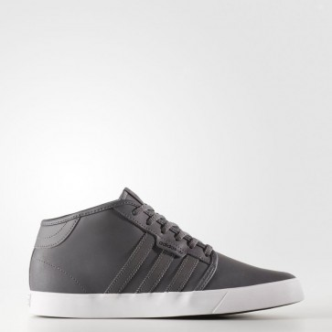 Cinq Gris / Cinq Gris / Blanc Adidas Originals Seeley Mid Homme Chaussures BY4017