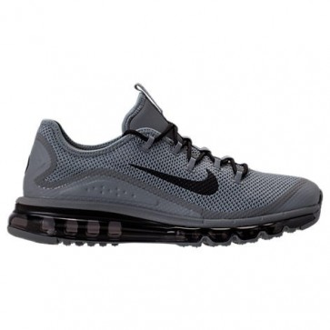 Gris froid / Noir Nike Air Max More Hommes Chaussures 898013 003