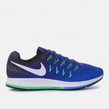 Nike Air Zoom Pegasus 33 Homme Chaussures de course Bleu et Noir