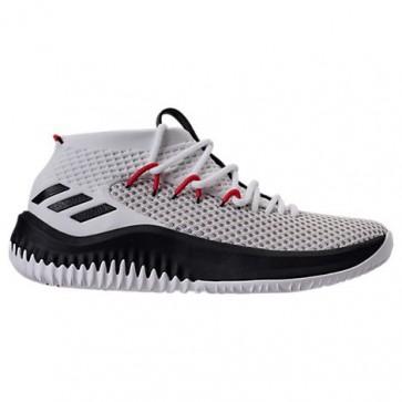 Hommes Adidas Dame 4 Blanc, Noir, Cramoisi Chaussures de sport BY3759