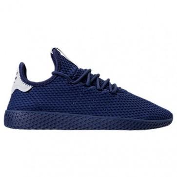Bleu foncé Adidas Originals Pharrell Williams Tennis HU Homme Chaussures de course BY8719