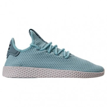 Bleu glacial Adidas Originals Pharrell Williams Tennis HU Hommes Chaussures CP9764