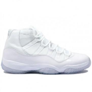 Chaussure de basketball Air Jordan Retro 11 Hommes Blanc, Blanc Ice 408201 101