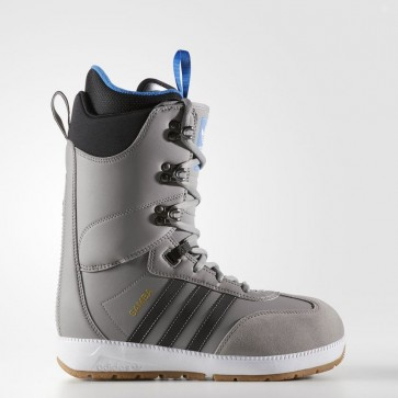 Hommes Adidas Originals Samba ADV Bottes Charbon Gris solide / Noir / Running Blanc BY3412