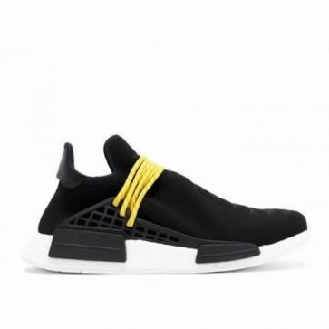 (Noir, Jaune, Blanc) Adidas Canada NMD PW Human Race Femme Chaussures de course