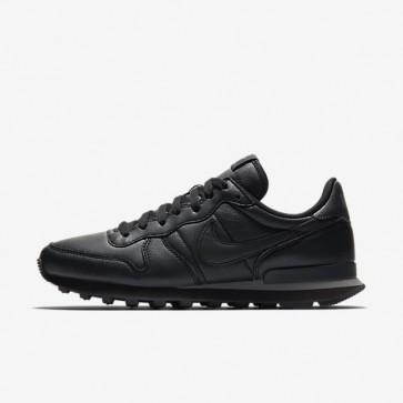 Hommes Chaussures de course Nike Internationalist 631754-013 Noir, Gris foncé, Noir
