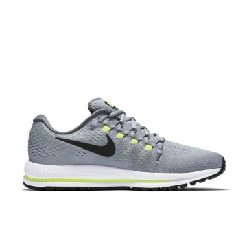 Homme Nike Air Zoom Vomero 12 Wolf Gris / Noir / Gris froid / Platine pure Chaussures 863762-002