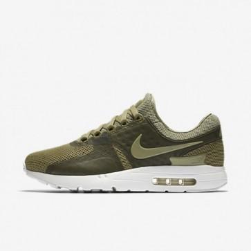 Nike Air Max Zero Breathe Hommes Chaussures de course Trooper / Sommet blanc / Cargo Kaki 903892-200