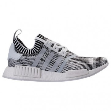 Homme Adidas NMD Runner R1 Primeknit Chaussures Blanc / Core Noir BY1911