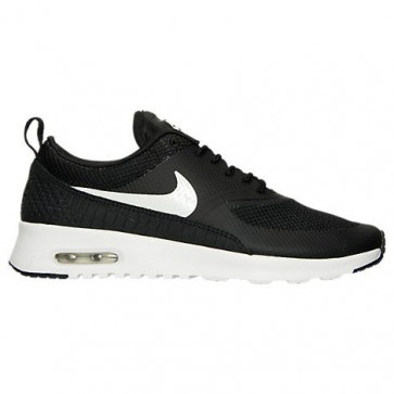 Nike Air Max Thea Femmes Chaussures 599409 020 Noir, Sommet blanc