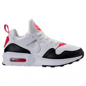 Homme Nike Air Max Prime 876068 102 Blanc, Rouge, Noir Chaussures de course