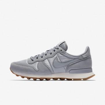 Nike Internationalist Femmes Chaussures 828407-018 Wolf Gris, Sail, Gomme Brun moyen, Wolf Gris