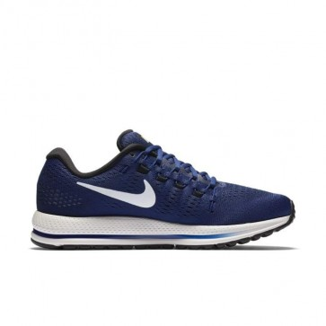 Nike Air Zoom Vomero 12 Homme Chaussures Bleu Royal Profond, Sommet blanc, Noir 863762-401