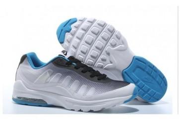 Hommes Chaussures de sport Nike Air Max 95 Bleu, Noir, Blanc