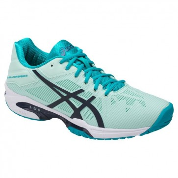 Asics Gel Solution Speed 3 Femme Chaussures de tennis Glacier, Bleu, Aqua