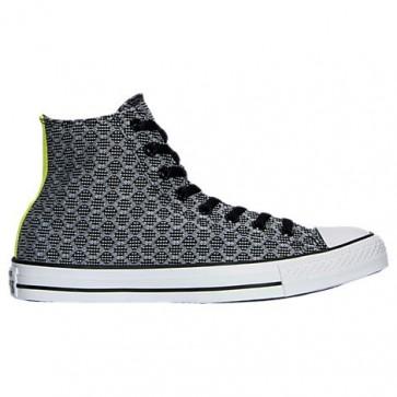 Noir - (Femmes, Hommes) Converse Chuck Taylor Hi Top Chaussures 155436F