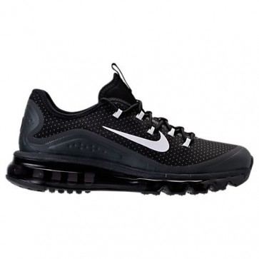 Nike Air Max More Hommes Chaussures de running Noir, Blanc, Wolf Gris, Anthracite 898013 001
